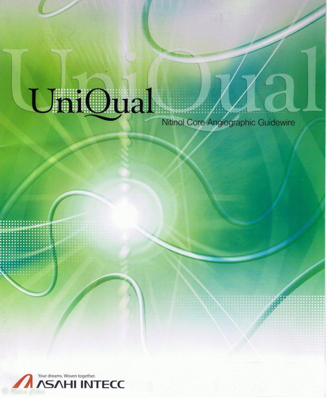 Uniqual Coronary Or Peripheral Glide Guidewire