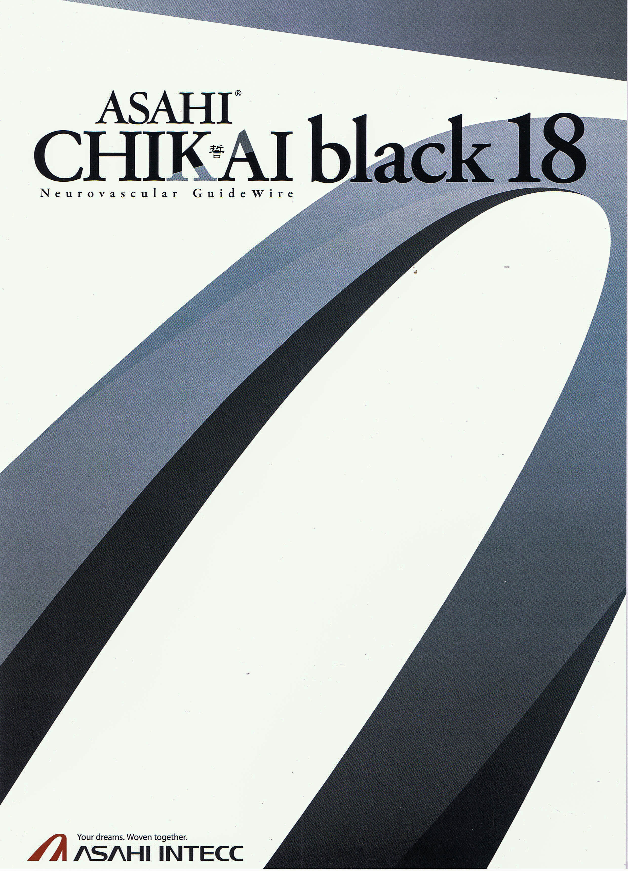 "Chikai Black 0.018"" Neuro Guidewire"